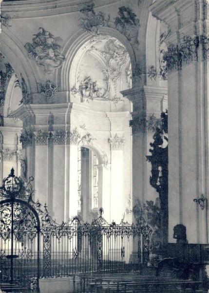 Inneres der Kathedrale St. Gallen Vorderseite