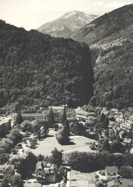 7310 Bad Ragaz SG, Maienfelderstr., Hotel Hof, Taminaschlucht Vorderseite