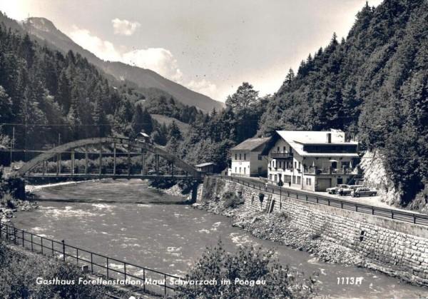 Gasthaus Forellenstation, Maut Schwarzach im Pongau Vorderseite