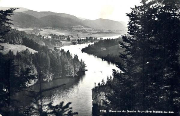 Bassins du Doubs, Frontière Franco-Suisse Vorderseite