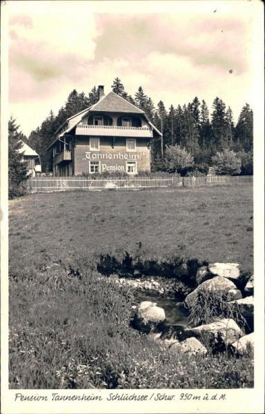 Schluchsee, Pension Tannenheim Vorderseite
