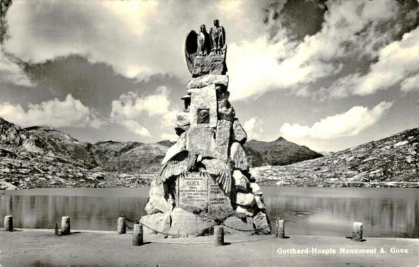 Gotthard-Hospiz Monument Vorderseite