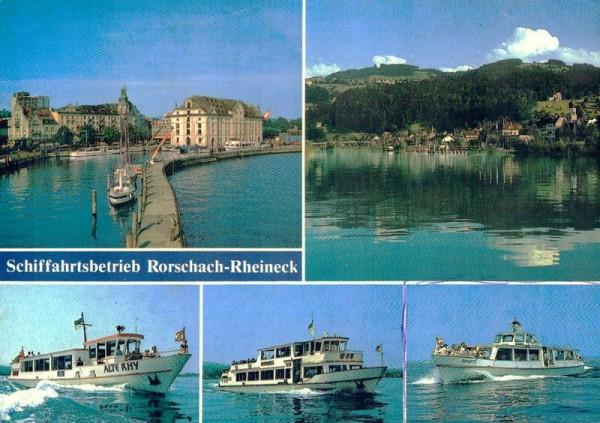 Schiffahrtsbetrieb Rorschach - Rheineck Vorderseite