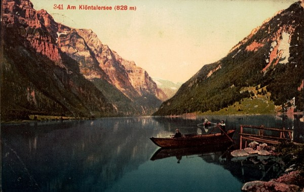 Am Klöntalersee.1911