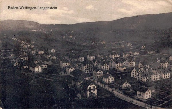 Baden-Wettingen-Langenstein Vorderseite