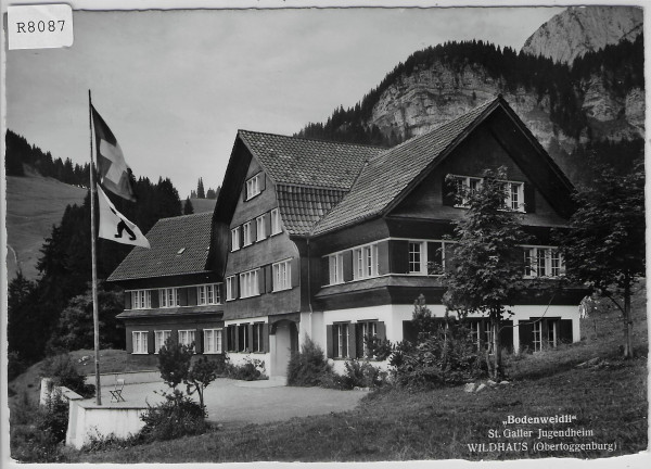 Wildhaus - Bodenweidli St. Galler Jugendheim