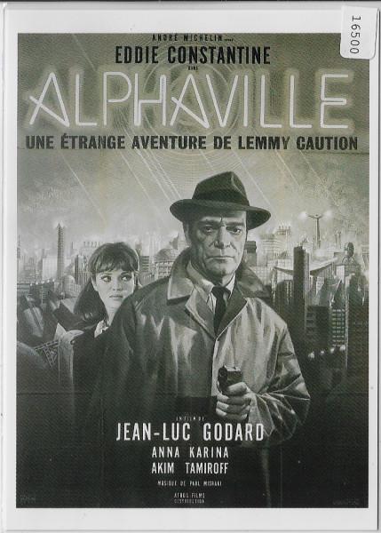 Alphaville Eddie Constantine Jean-Luc Godard F 1965