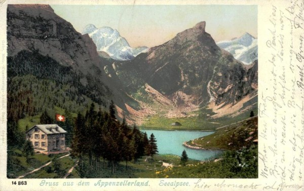 Gruss aus dem Appenzellerland Vorderseite