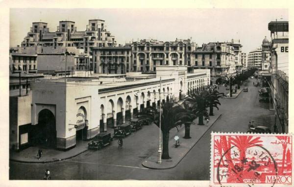 Casablanca, Marché Central Vorderseite