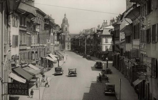 Morges. La Grand Rue. 1939 Vorderseite