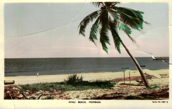 Nyali Beach, Mombasa Vorderseite