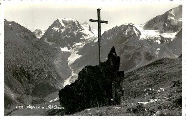 Arolla et Mont Collon Vorderseite
