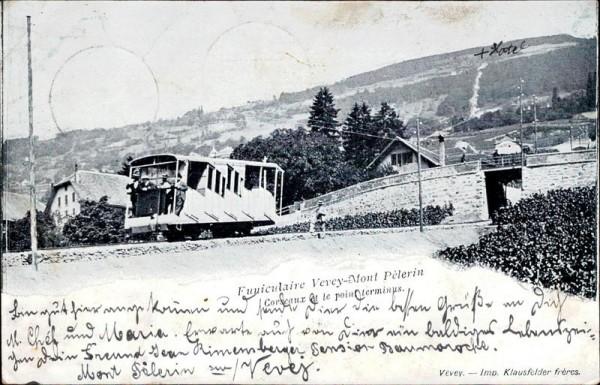 Funiculaire Vevey-Mont Pélerin Vorderseite