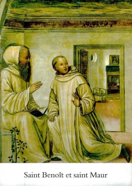"""Sodoma's Freske in der Abtei """"Monte Oliveto Maggiore"""" Vorderseite"""