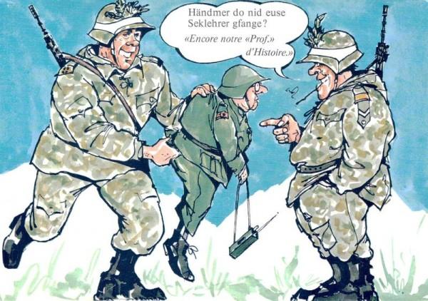 Militärhumor Vorderseite