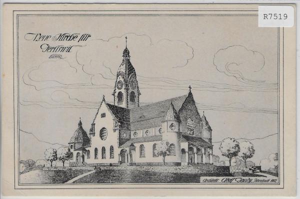 Neue Kirche für Gerliswil - Architekt Andre Gaudy