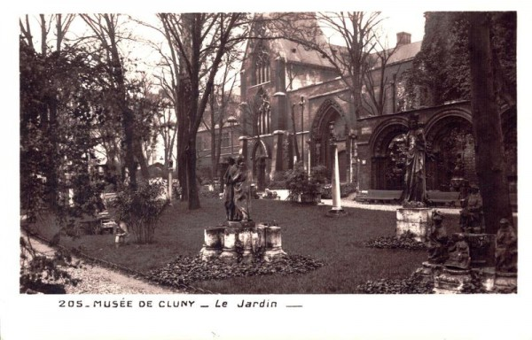 Musée de Cluny - Le Jardin Vorderseite