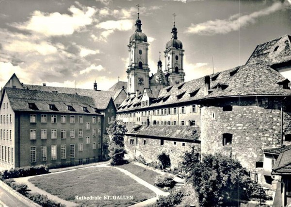 Kathedrale St. Gallen Vorderseite
