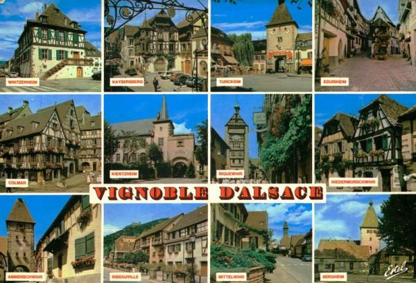 Vignoble d' Alsace Vorderseite