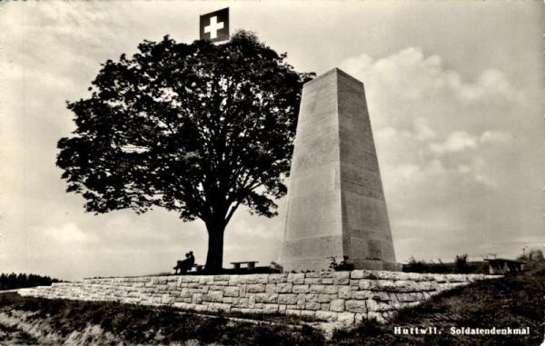 Soldatendenkmal, Huttwil Vorderseite