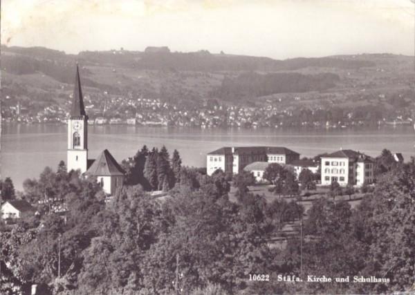 Kirche und Schulhaus, Stäfa