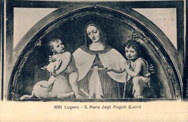 Lugano. S. Maria degli Angioli (Lunini) Vorderseite