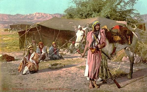 Beduine Vorderseite
