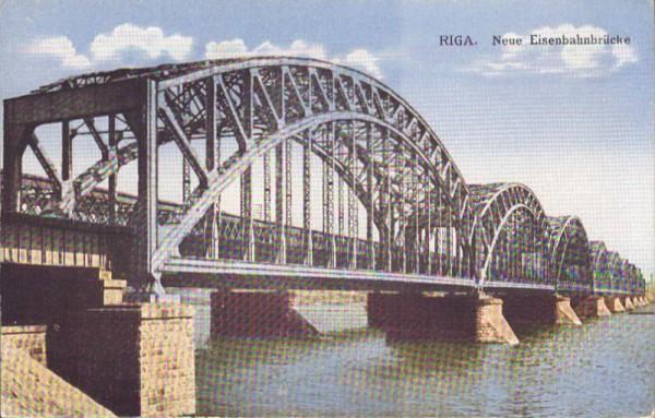Riga - Neue Eisenbahnbrücke