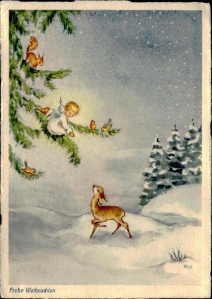 Frohe Weihnachten Vorderseite