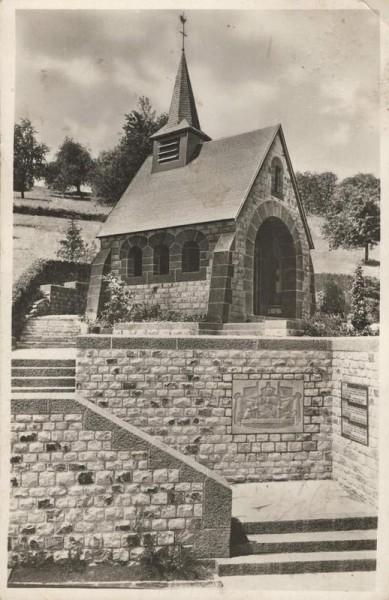 Küssnacht a.R., Gedächtniskapelle der Königin Astrid von Belgien. 1941 Vorderseite