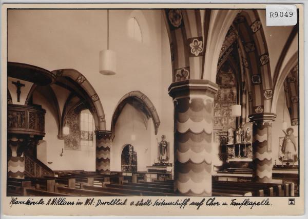 Wil SG - Pfarrkirche St. Niklaus - Innen Ansicht