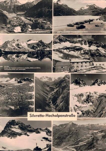 Silvretta-Hochalpenstrasse Vorderseite