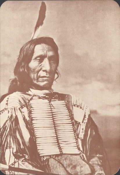 Red Cloud. Chief of the Sioux Vorderseite