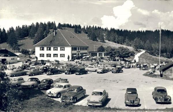 Hotel de la Vue des Alpes Vorderseite