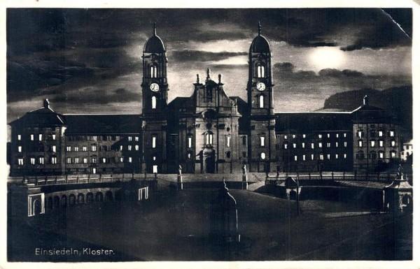 Einsiedeln, Kloster Vorderseite