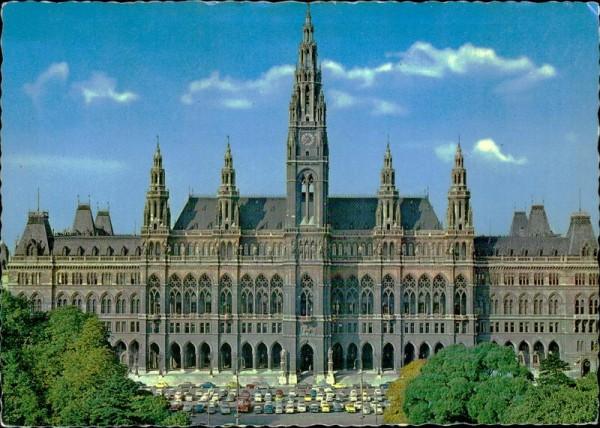 Wien/Rathaus Vorderseite