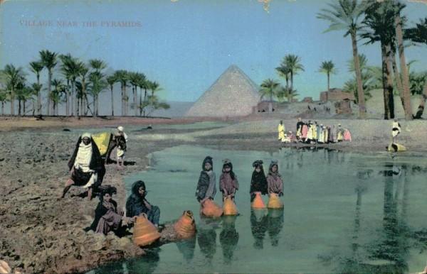 Village near the Pyramids Vorderseite