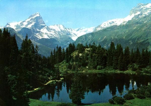 Schwarzsee mit Piz Platta, Alp Flix ob Sur Vorderseite