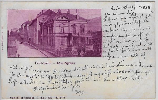 Saint-Imier - Rue Agassiz 1899
