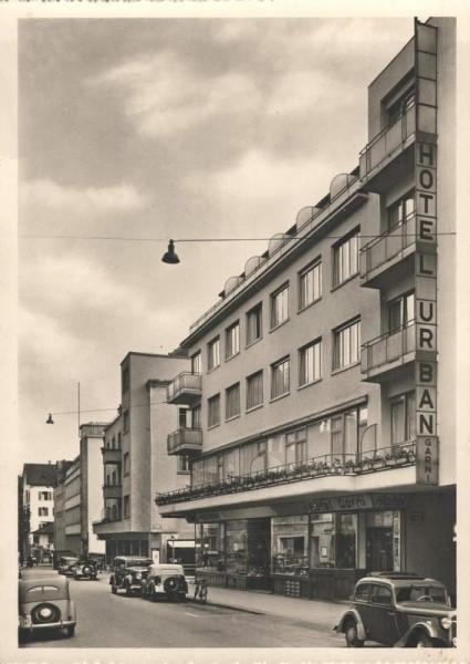 Hotel Urban-Garni am Bellevueplatz, Zürich Vorderseite