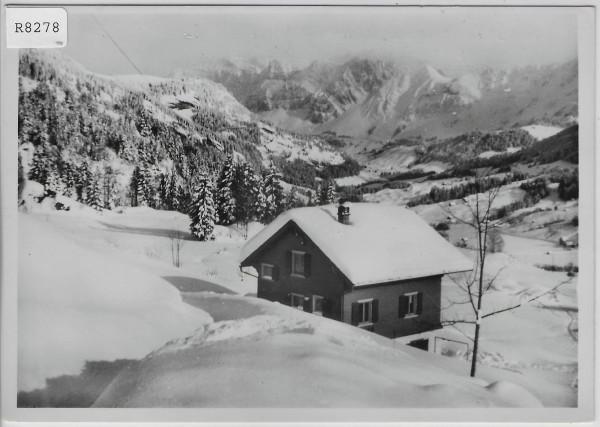 Chalet Bergruh - Ennetbühl im Winter en hiver