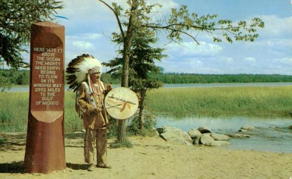 Minnesota, Chief Odawa Littlecreek Vorderseite