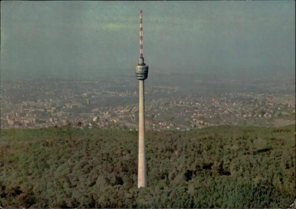 Stuttgart/Fernsehturm Vorderseite