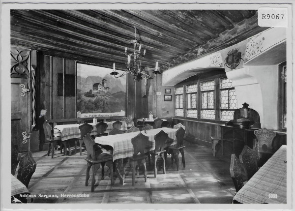 Schloss Sargans - Herrenstube