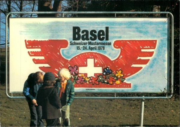 Muba Basel 1978 Vorderseite