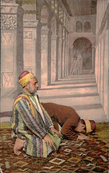 Musulmans en Prière Vorderseite