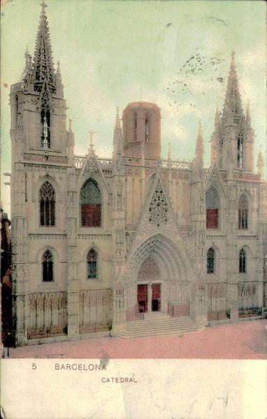 Barcelona, Catedral Vorderseite