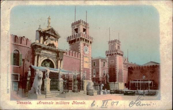 Venezia, Arsenale Vorderseite