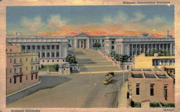 Habana, Universidad Nacional Vorderseite