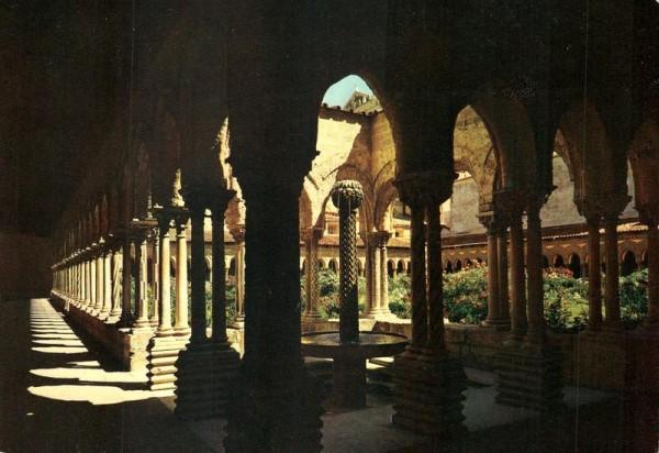Palermo, inners des Kreuzganges Vorderseite